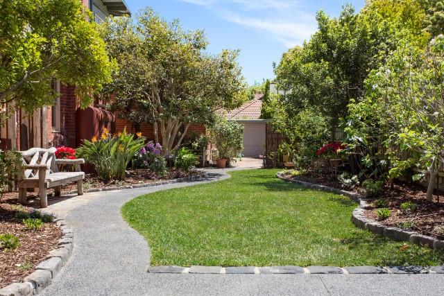 Path melbourne garden design idea