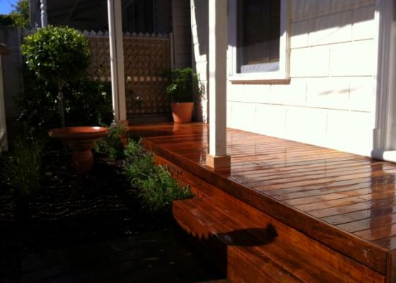 Decking design Melbourne Landscaping