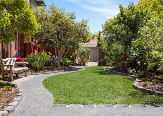 Path melbourne garden design idea