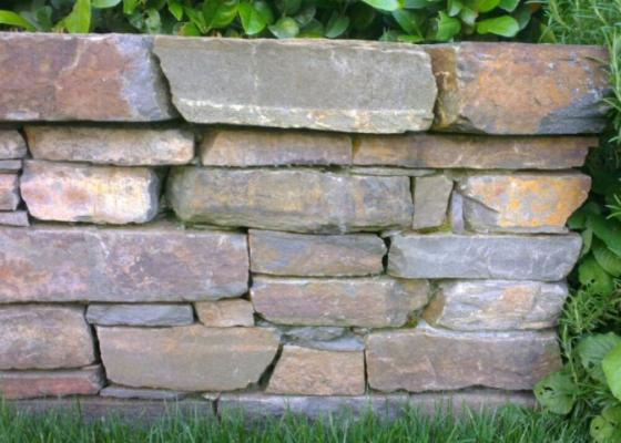 Rock Wall garden design idea Melbourne landscaping