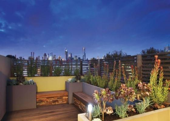 Roof Top Garden design idea Melbourne landscaping